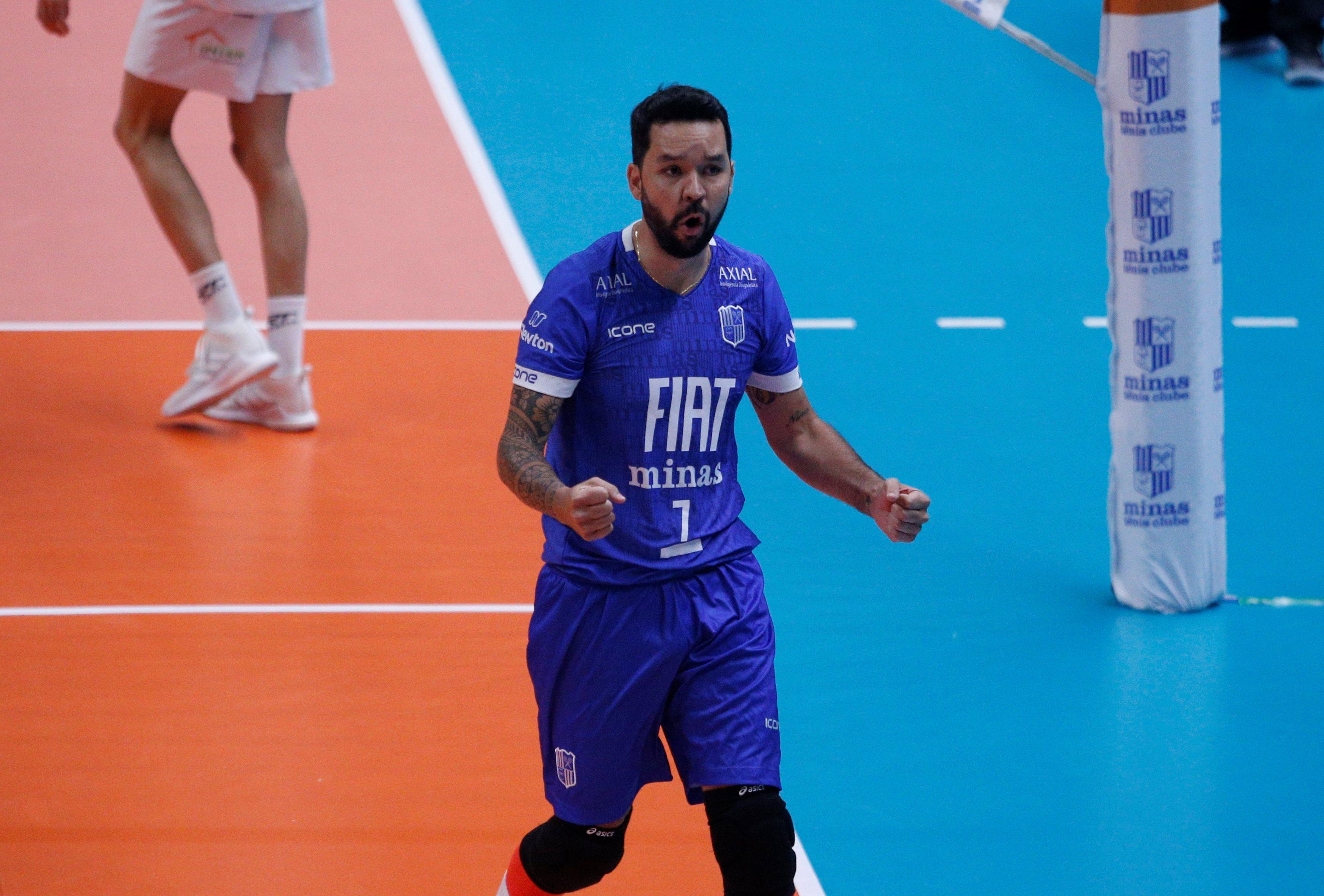 William destaca a consistência do Fiat/Minas para a semifinal / Fotos: Orlando Bento/MTC