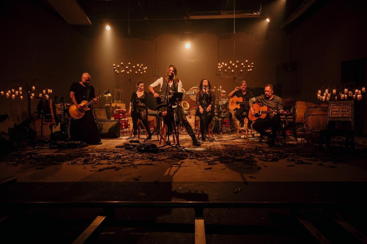 Banda Ca$h apresenta show acústico no Teatro do Centro Cultural Unimed-BH Minas. Crédito: Divulgação banda Ca$h