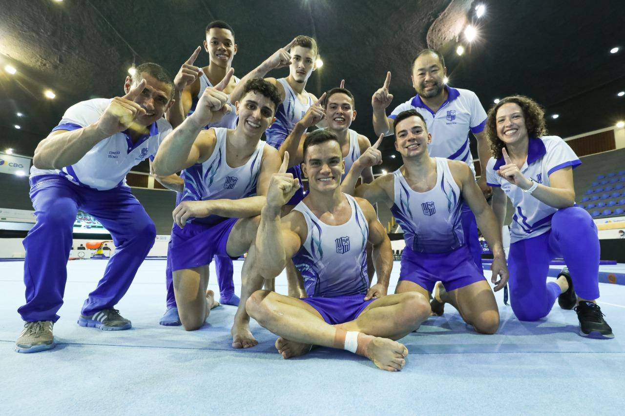 Minas Tênis Clube ficou em primeiro lugar por Equipes (Foto: Ricardo Bufolin/CBG)