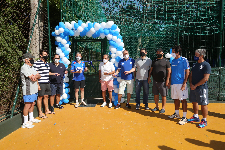 Diretoria do Minas entrega mais duas quadras de beach tennis aos associados / Fotos: Orlando Bento/MTC