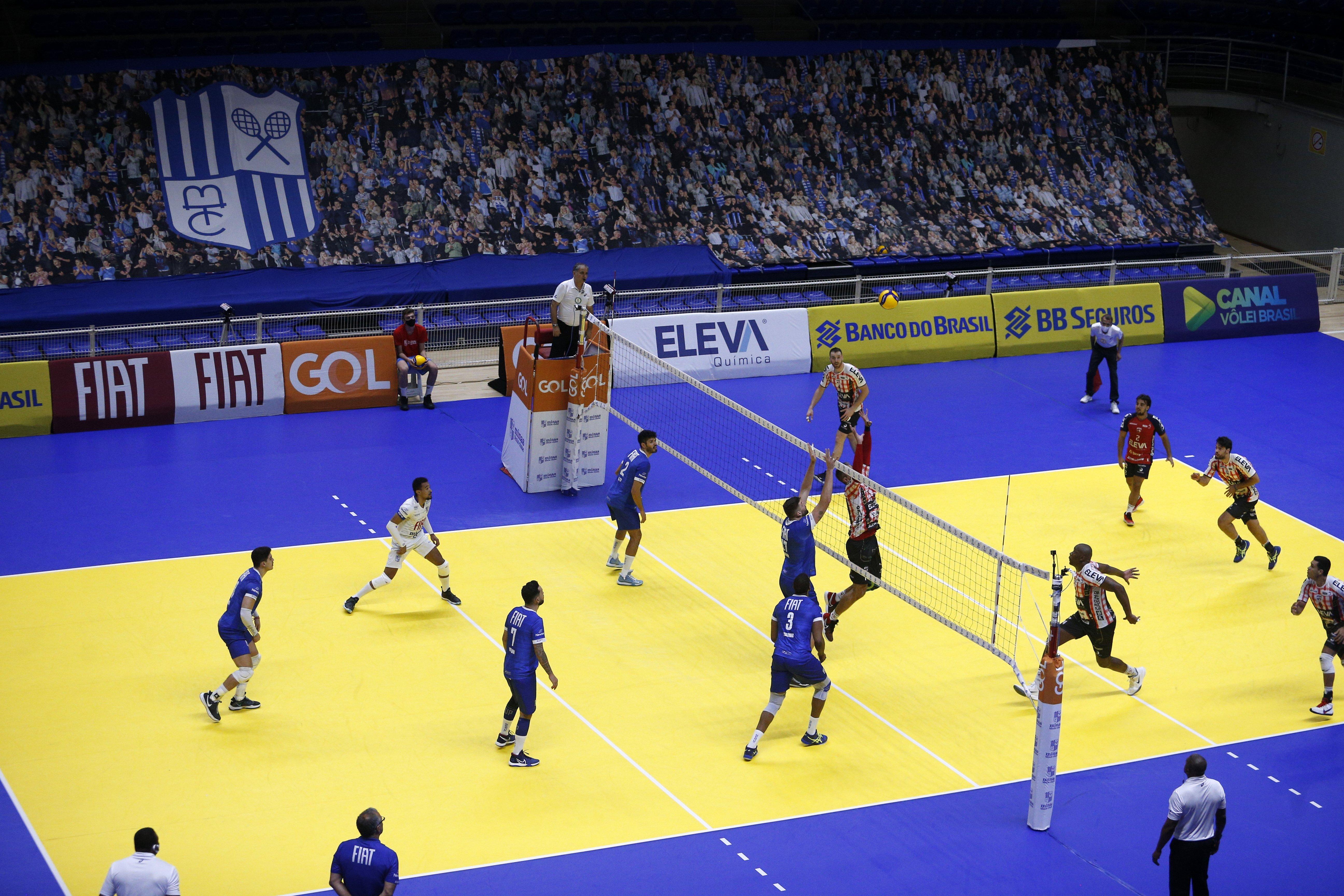 No primeiro turno, o Fiat/Minas venceu por 3 a 1, na Arena MTC / Fotos: Orlando Bento/MTC