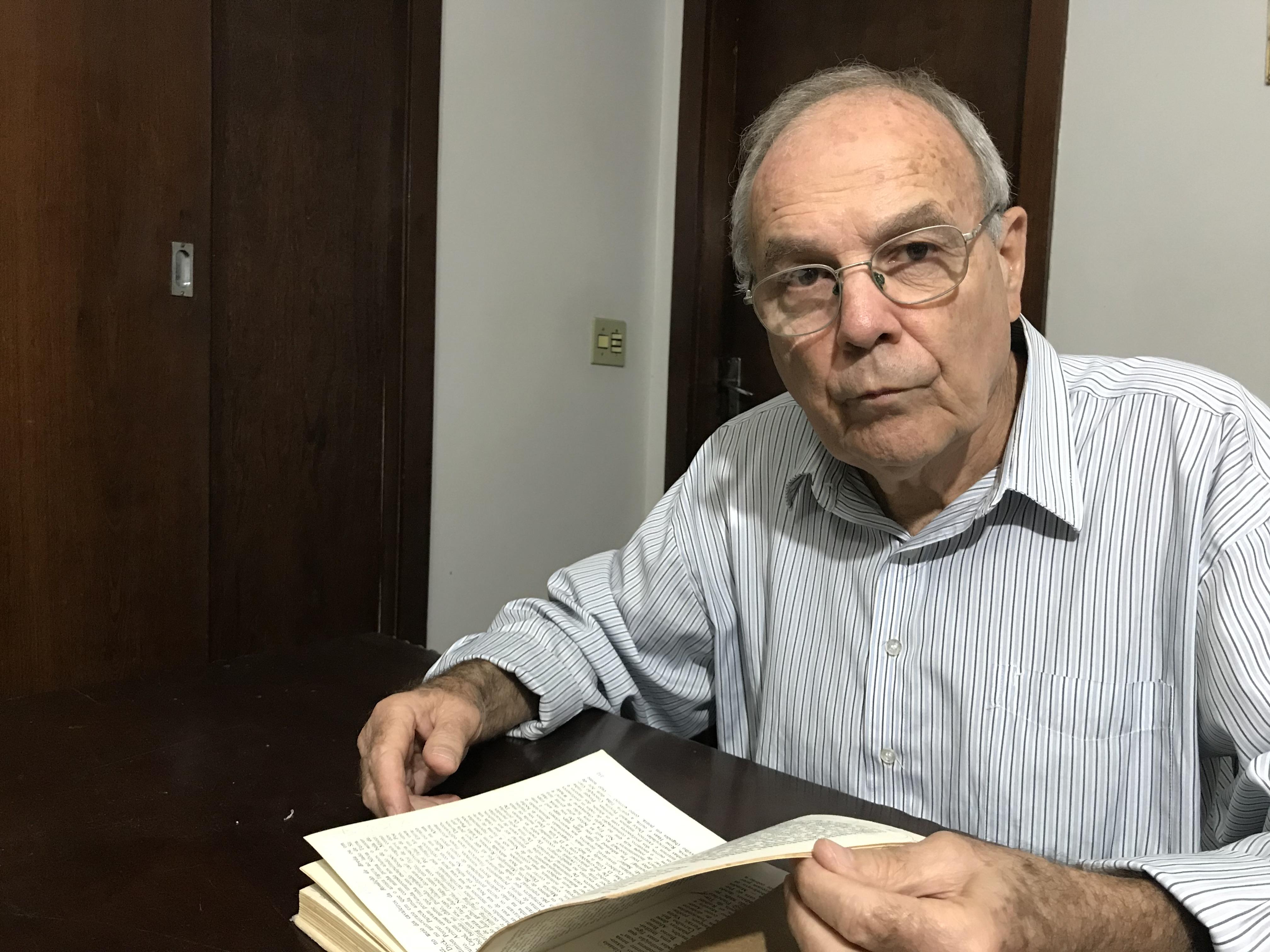 Antônio Sérgio Bueno, professor de literatura da UFMG, analisará as obras de Pedro Nava. Foto: Arquivo pessoal