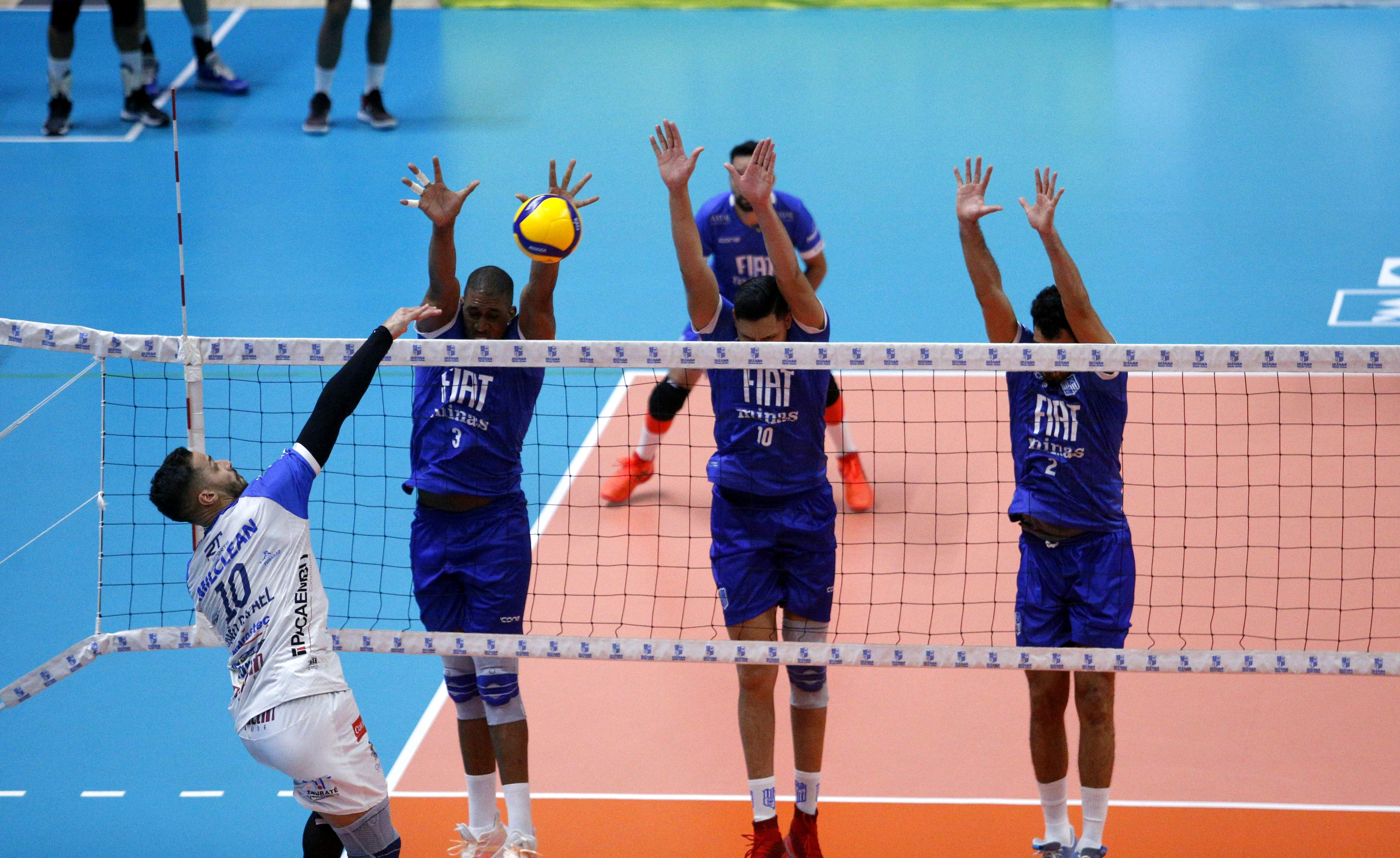 Fiat/Minas comandou a partida na Arena MTC / Fotos: Orlando Bento/MTC