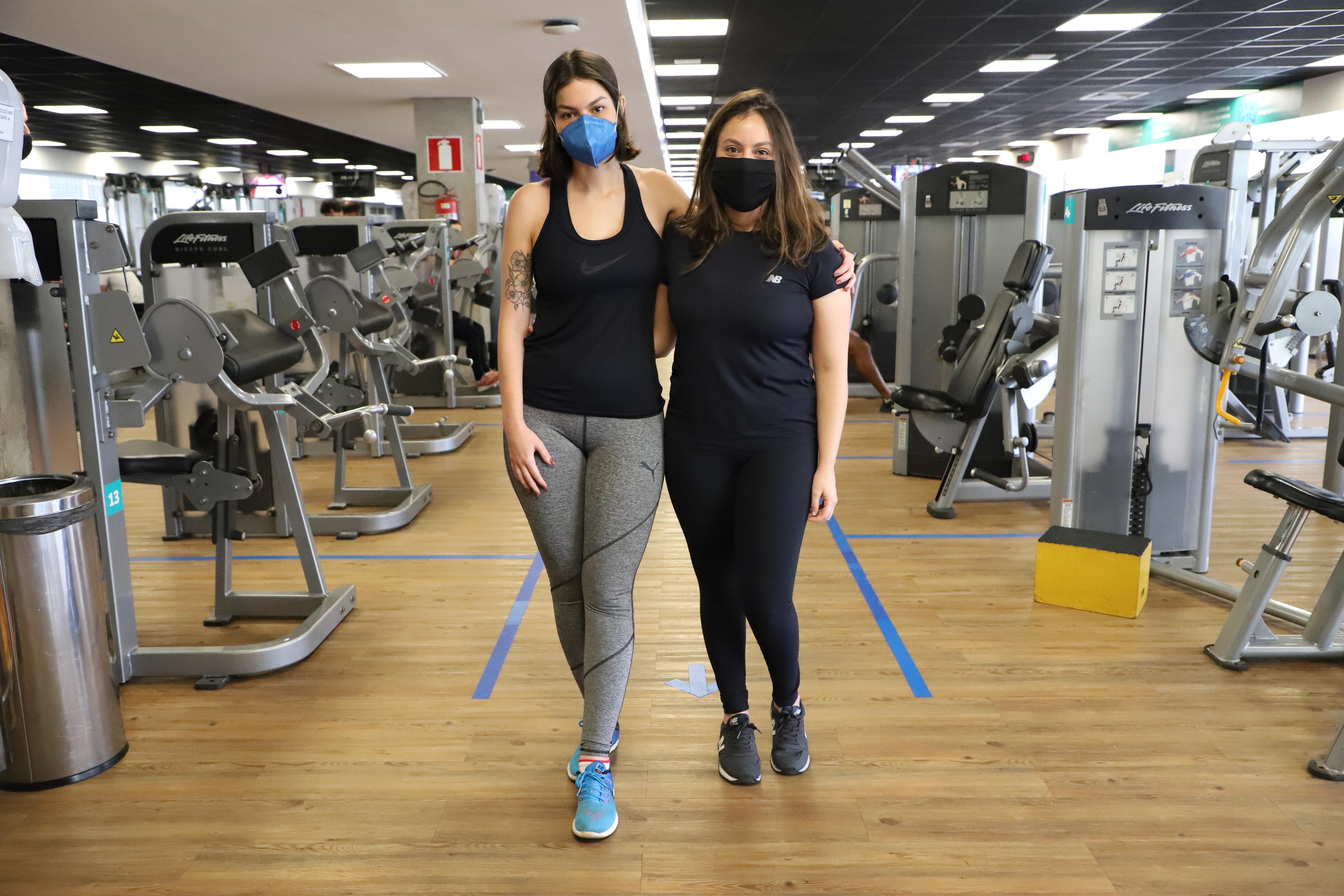 No Combo 4 em 1, as irmãs Letícia e Carolina estão descobrindo - e gostando - novas atividades físicas que nunca imaginavam praticar. Foto: Divulgação MTC