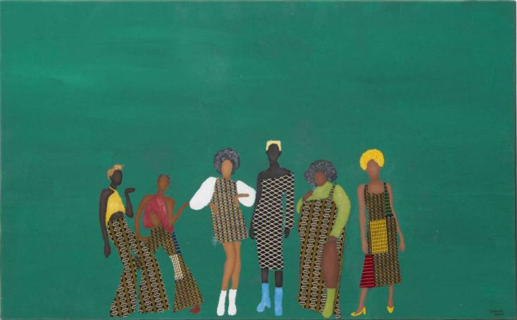 """""""Pretagonismo"""" é o título da série de pinturas de Gabriel"""