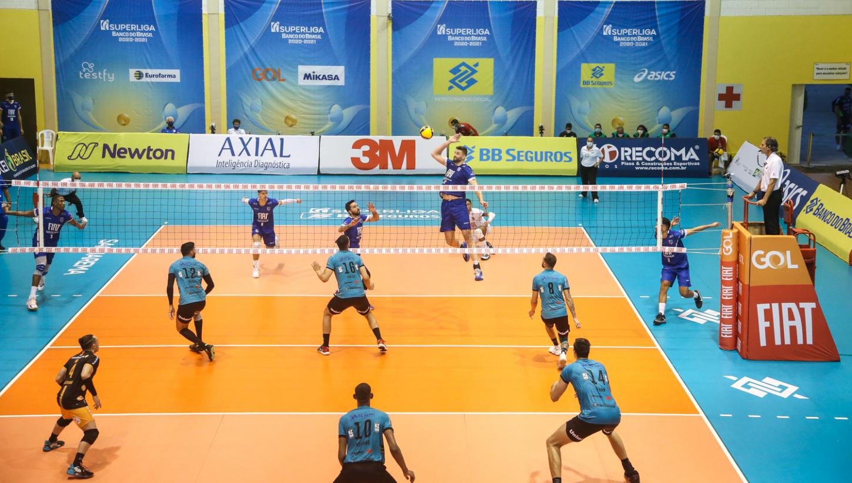 Semifinal da Superliga é realizada em Saquarema (RJ)