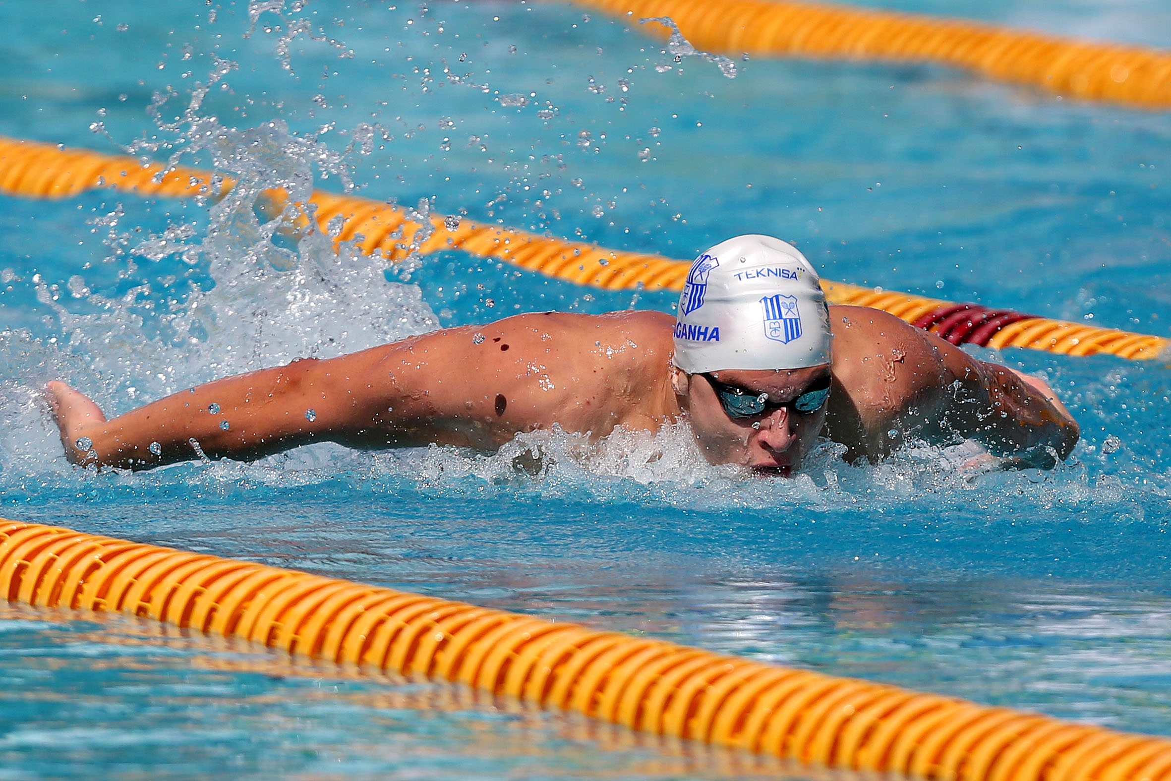 Victor Baganha, de 18 anos, está confiante para a final dos 100m borboleta
