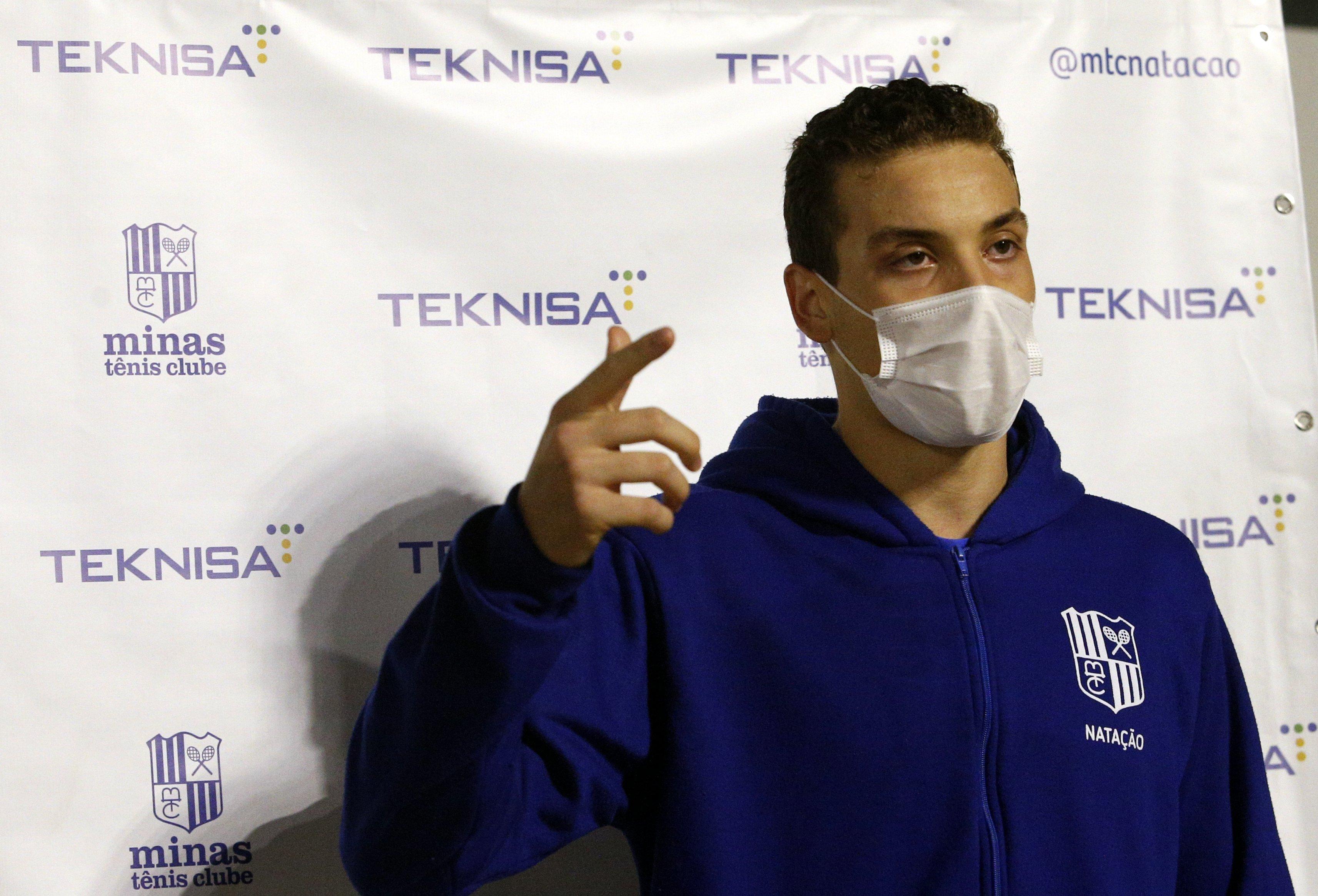 Bruno Rocha elogiou organização do evento e comemorou o retorno às competições