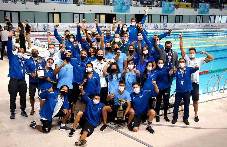 Equipe brasileira encerrou o Sul-americano na liderança do quadro de medalhas / Fotos: Satiro Sodré/SSPress/CBDA