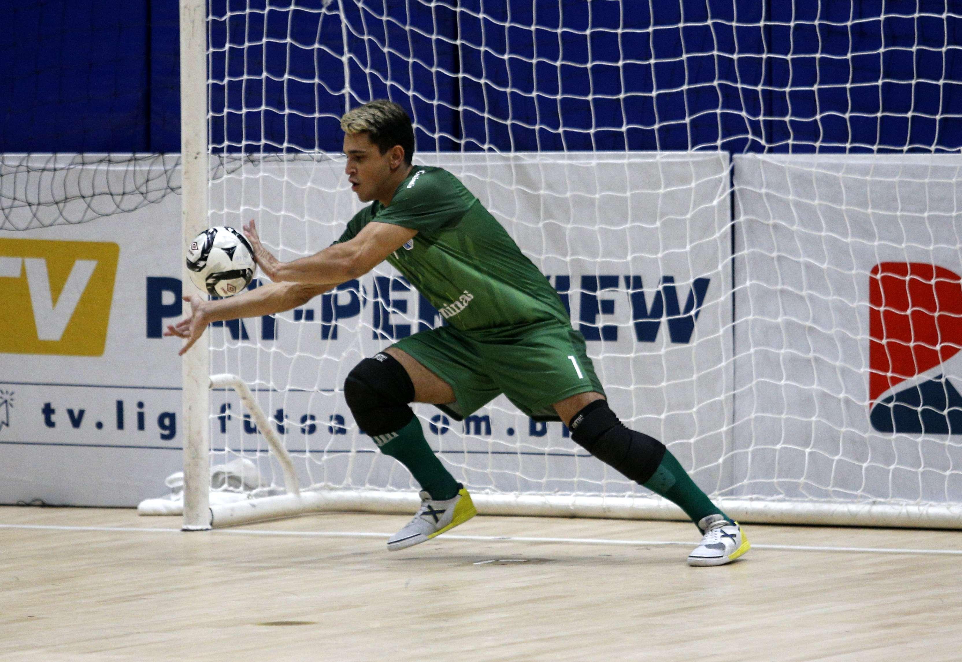 Goleiro Anderson espera ter nova chance na equipe (Foto: Orlando Bento/Minas Tênis Clube)