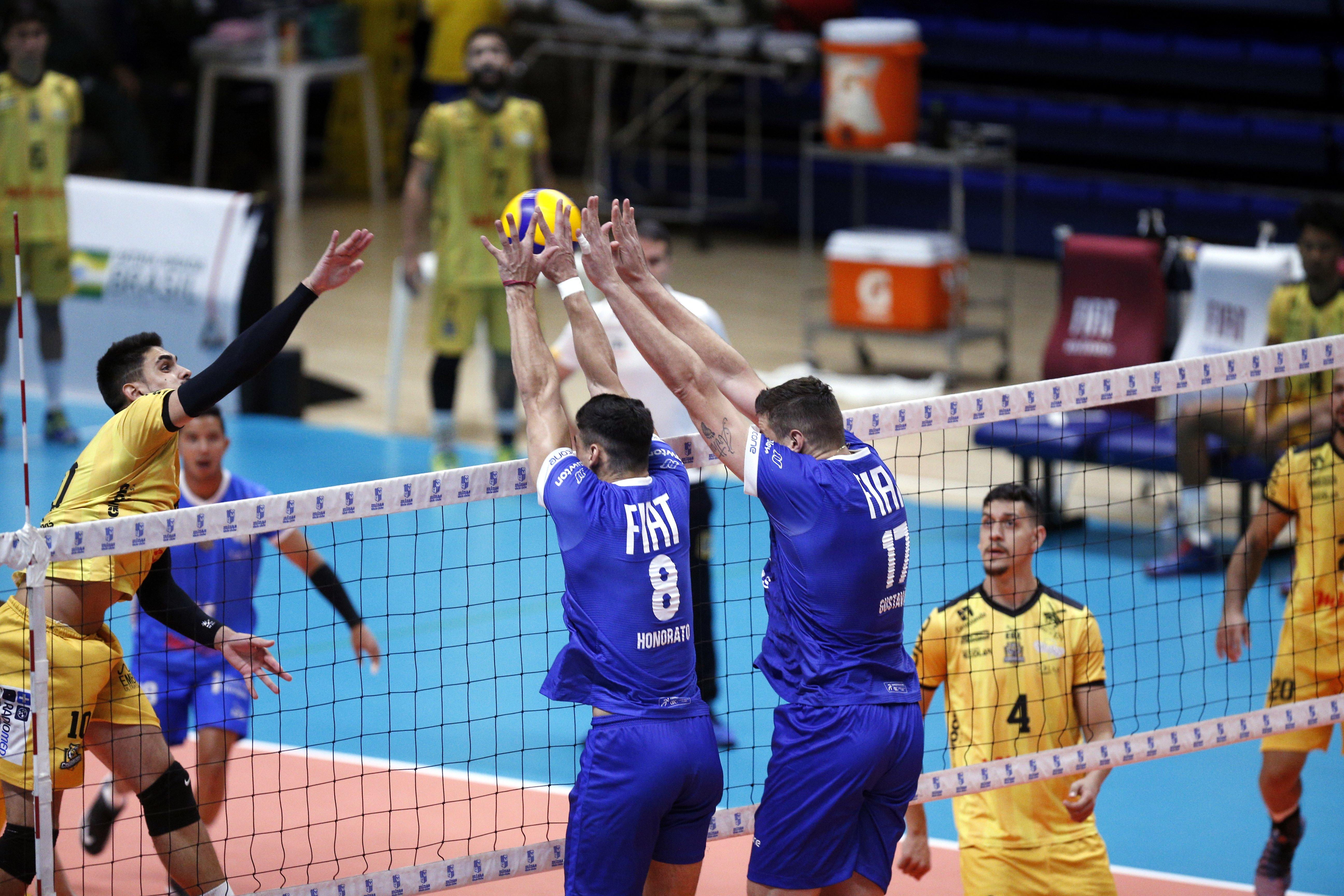 Fiat/Minas venceu mais uma partida na Arena MTC / Fotos: Orlando Bento/MTC