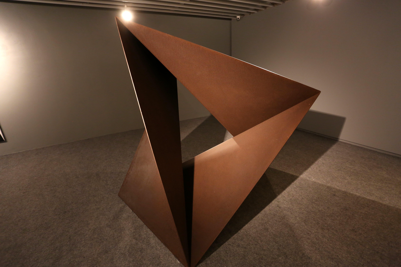 """A escultura """"Estrela"""", de 1952, está na Galeria do Centro Cultural Unimed-BH Minas. Foto: Orlando Bento"""