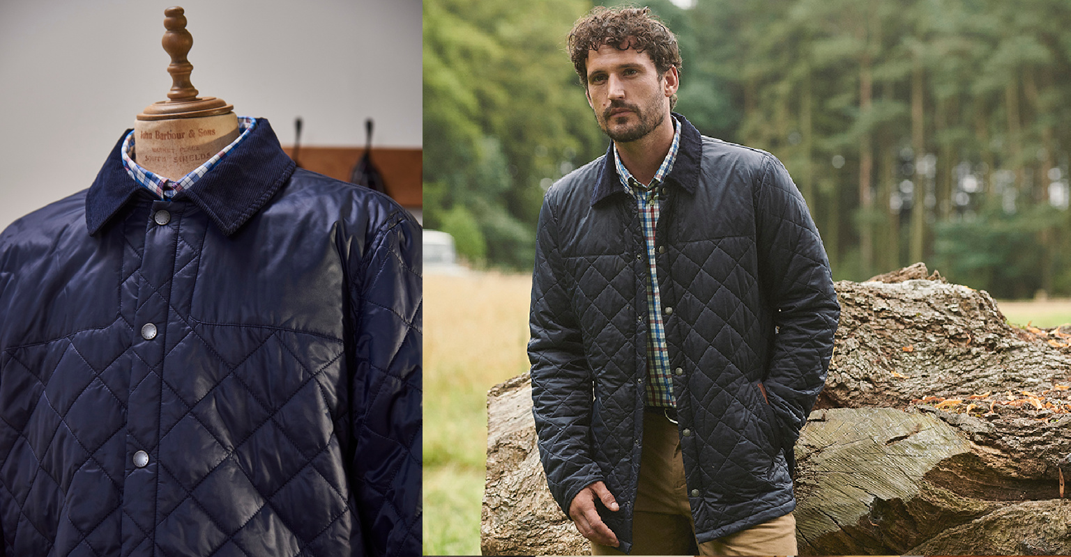 Barbour Countrywear - Thornhill Quilted Jacket MQU1267NY71