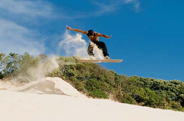 Top 5 places for sandboarding