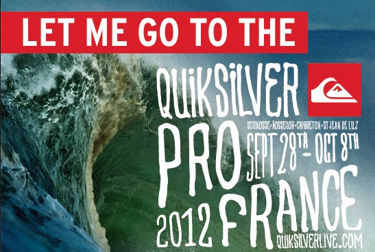LET ME GO TO THE QUIK PRO!
