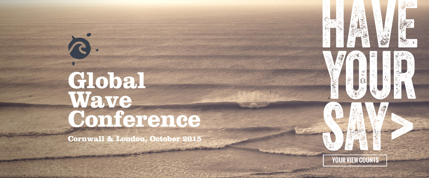 Global Wave Conference: Have Your Say