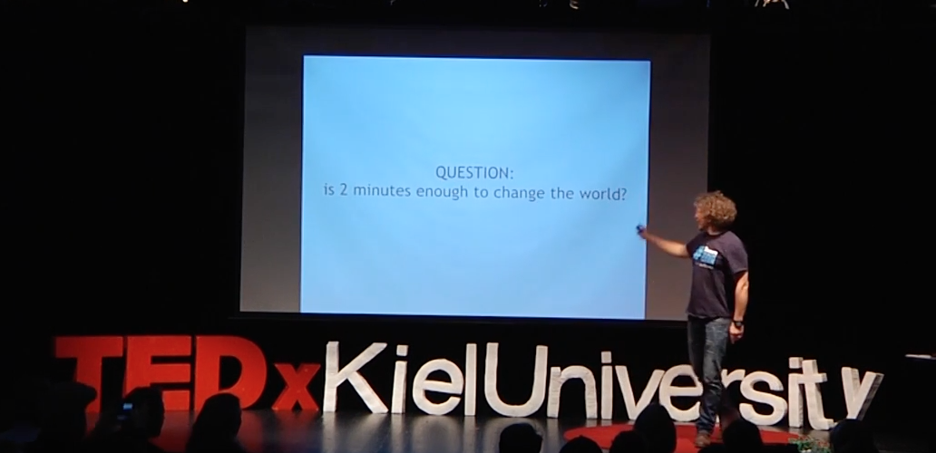 TEDx Talk - 2 Minute Beach Clean