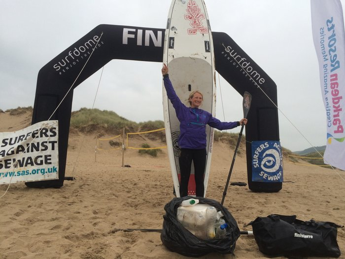 Paddle (260 Miles!) Against Plastic