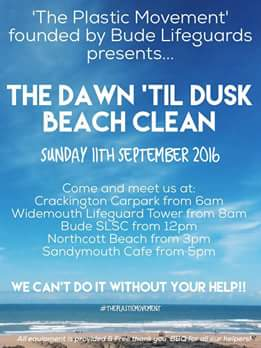 The Dawn 'til Dusk Beach Clean