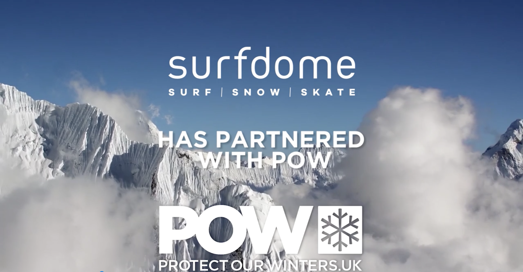 Surfdome partners with POW UK
