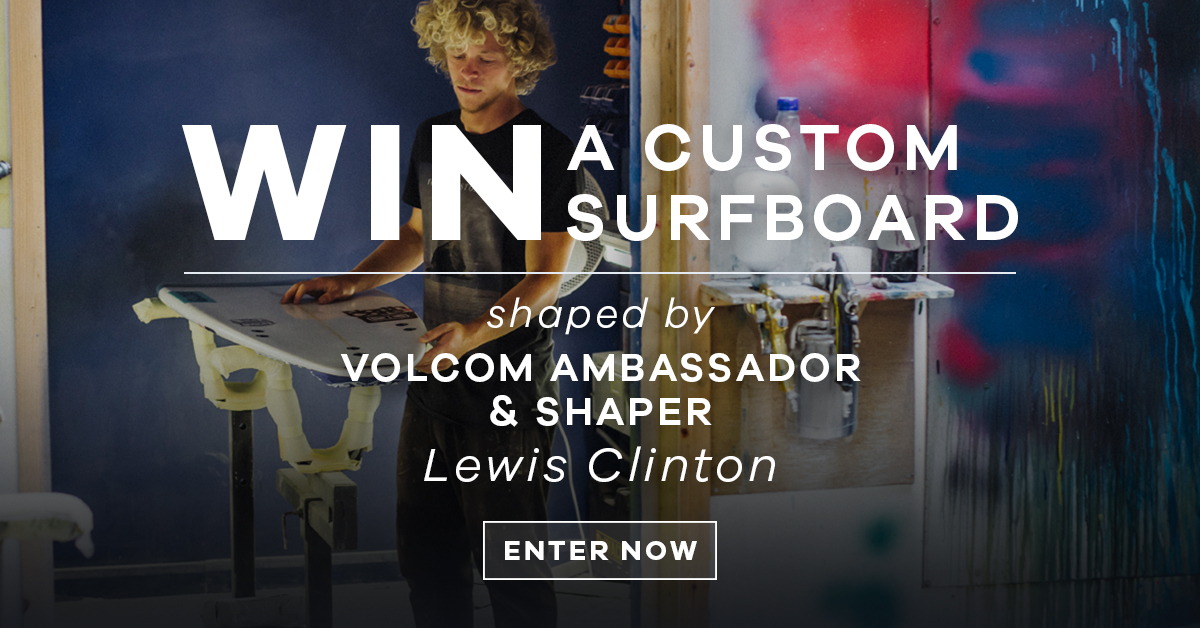 Interview with surfboard shaper and Volcom ambassador Lewis Clinton