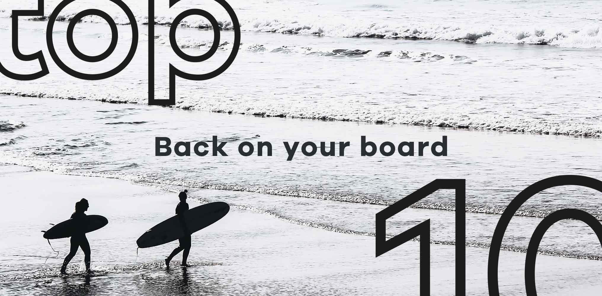 Back on your board | The top 10 surfing products to get you back in the line up