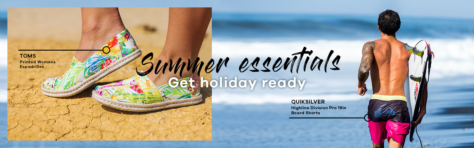 Get holiday ready | Shop your summer essentials