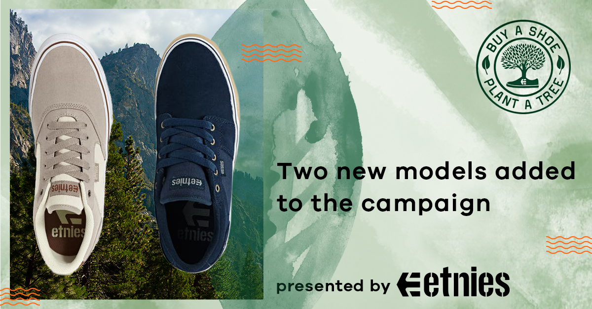 Buy a shoe plant a tree etnies