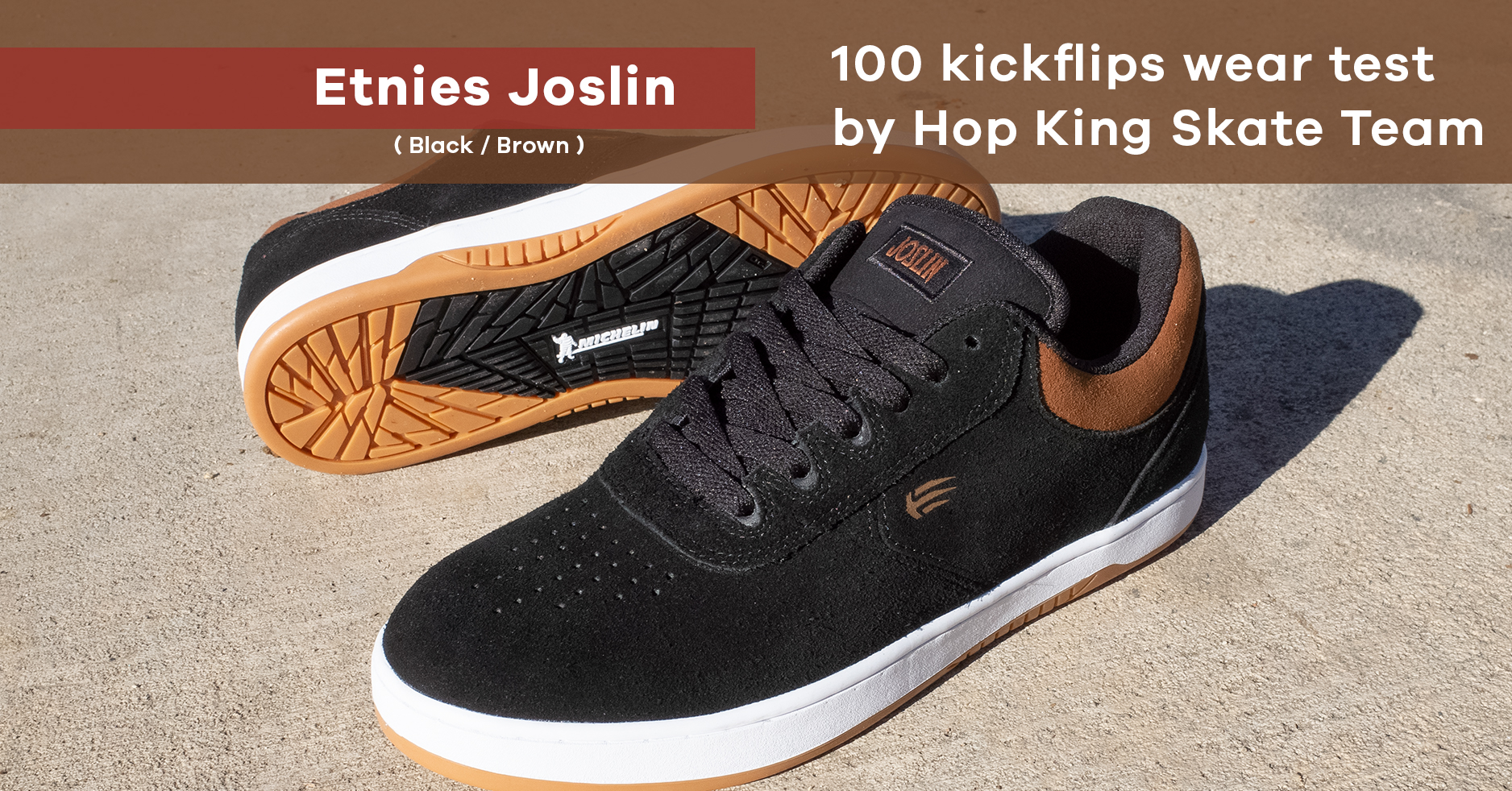 Etnies Joslin skate shoe wear test | Surfdome x Hop King
