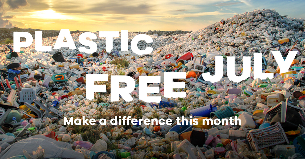 Plastic Free July | How to make a difference this month in 8 easy steps
