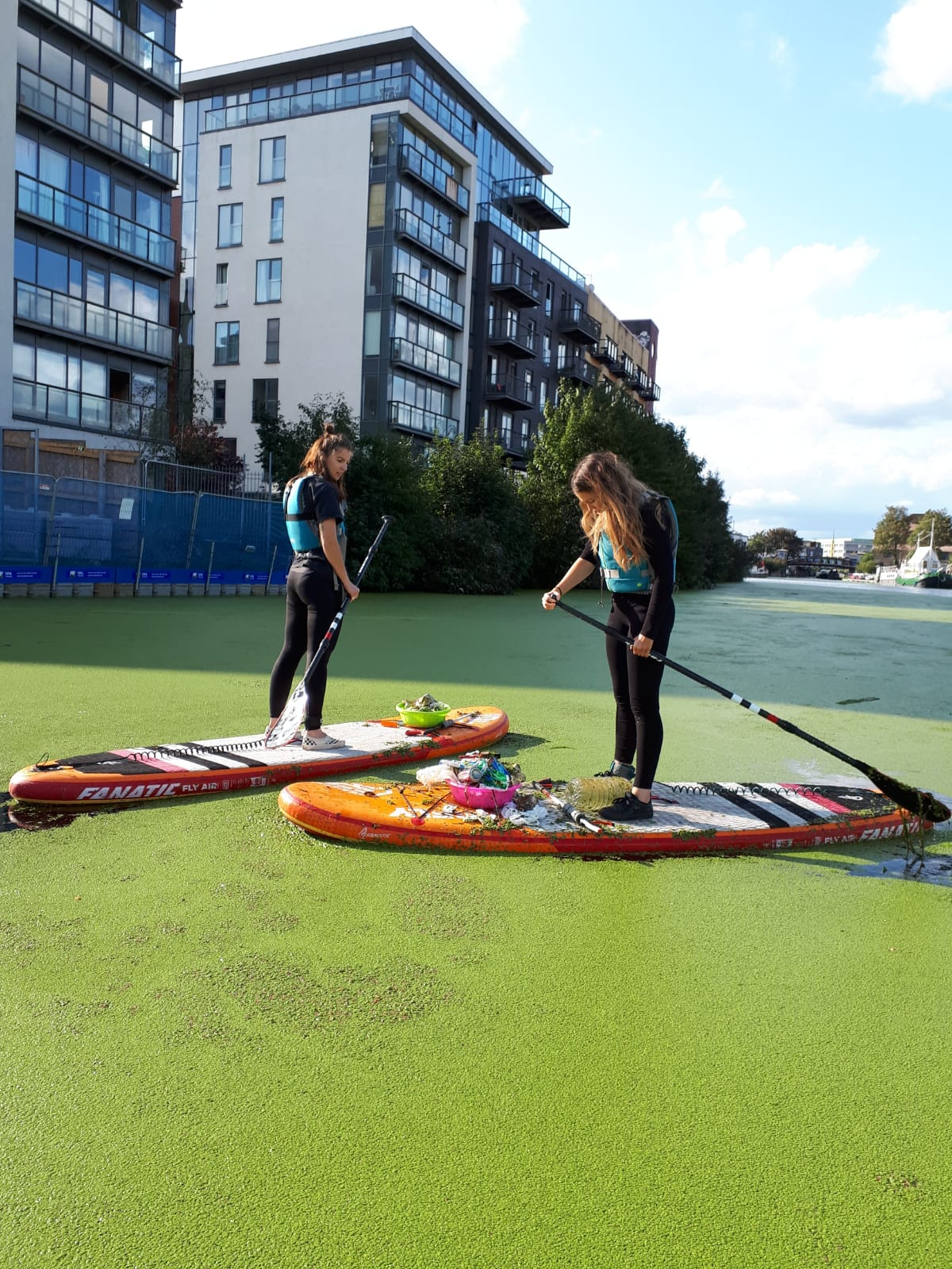 Canal litter clean-up in east London | Surfdome Blog