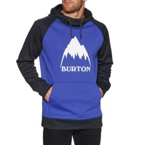 Technical outdoor pullover