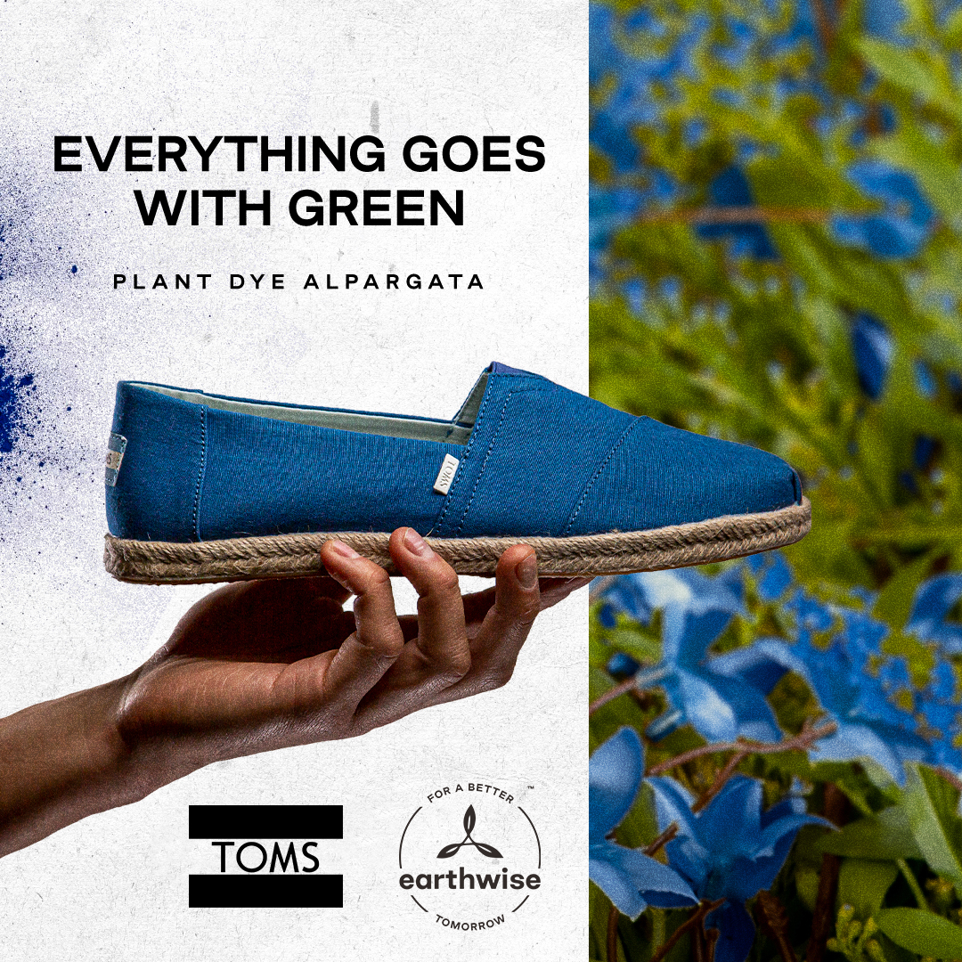 TOMS Earthwise | Everything goes green