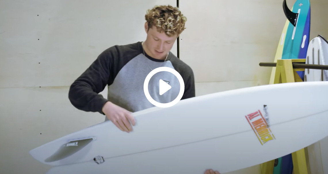 The Test Tub: Channel Islands FishBeard Surfboard Review
