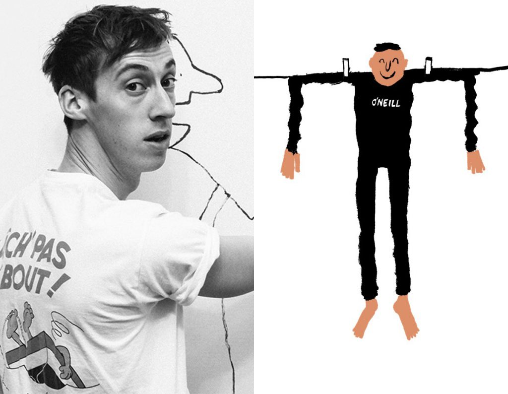 O'Neill's Ocean Mission: Q+A with Artist Jean Jullien