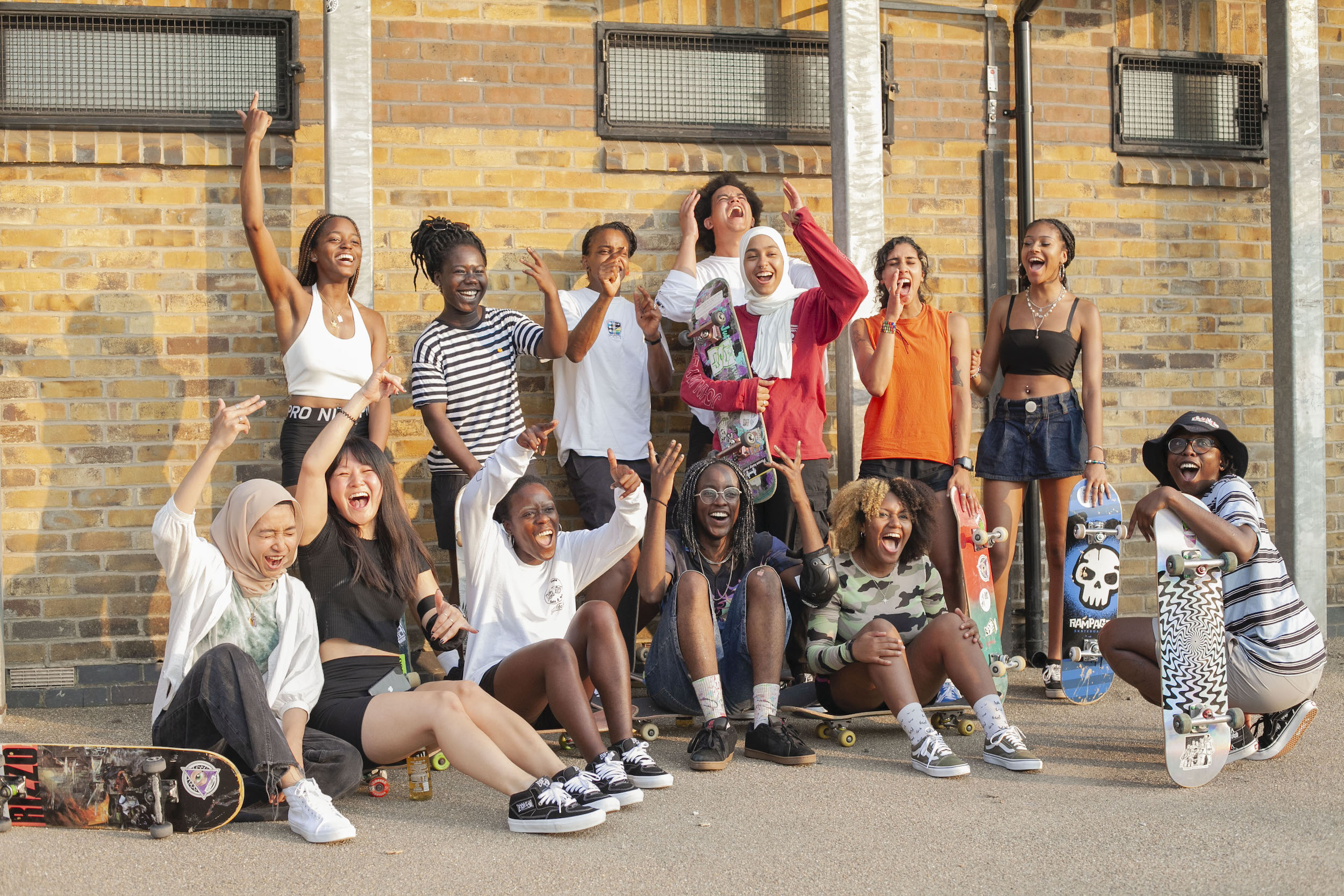 Gals 'n' Pals and Empowerment Through Skateboarding
