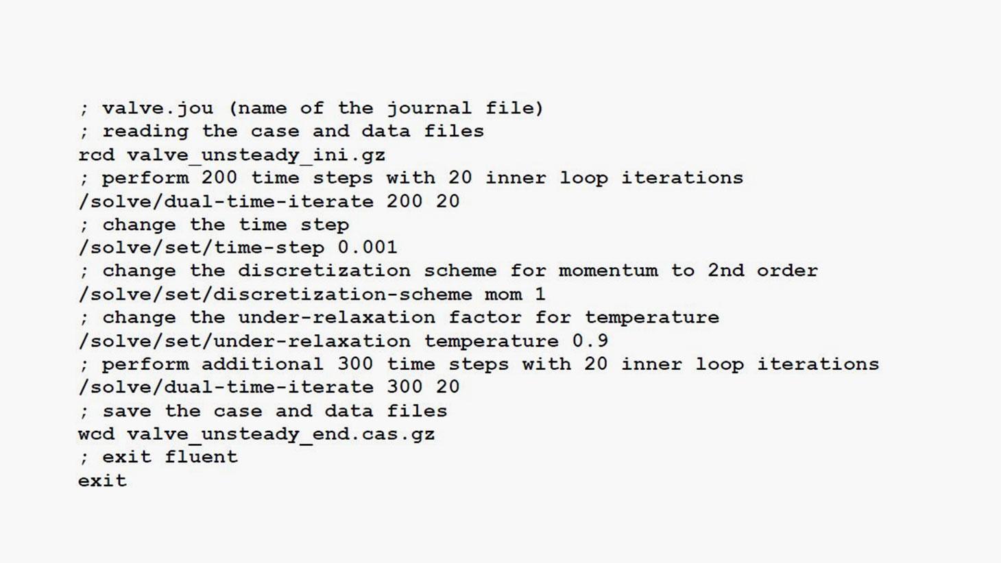 [FAZER ESPANHOL] Quarta-Técnica – O que é um journal file no ANSYS Fluent?