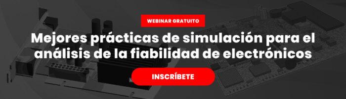 Webinar gratuito de simulación para fiabilidade de electronicos