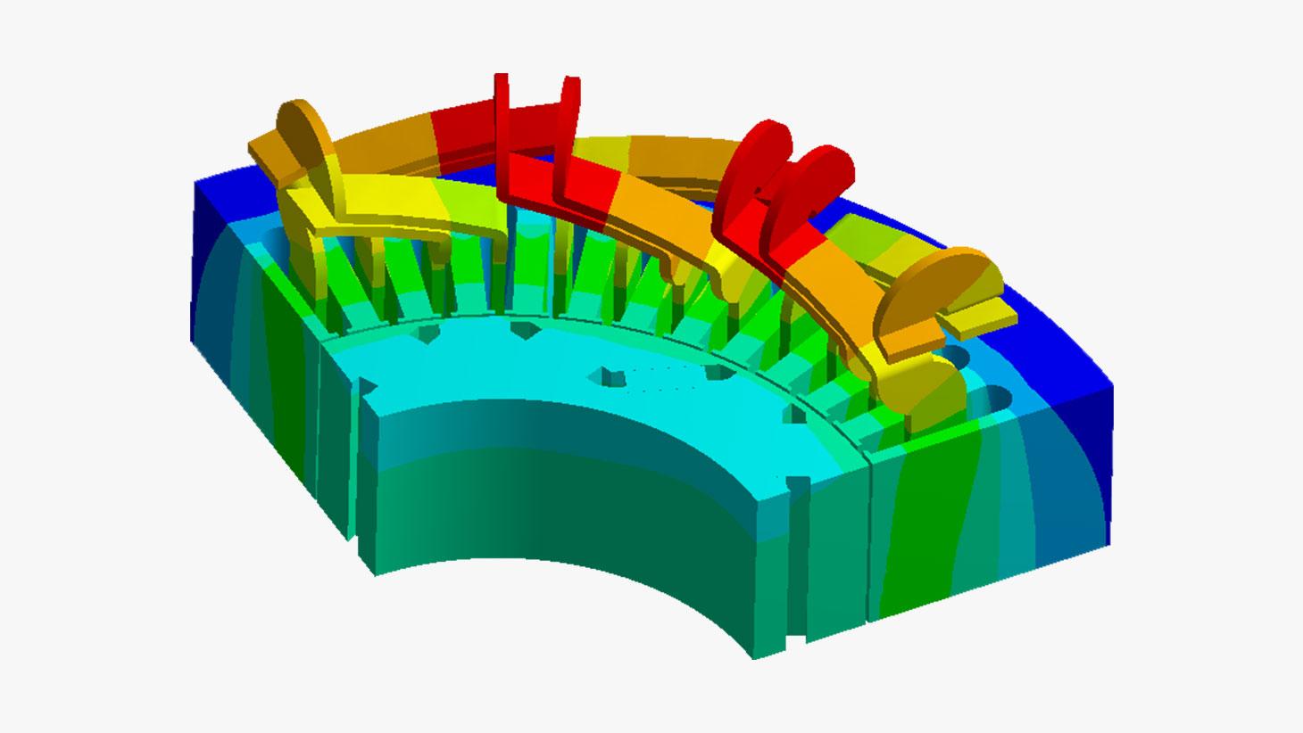 Projeto de máquinas elétricas rotativas utilizando RMxprt