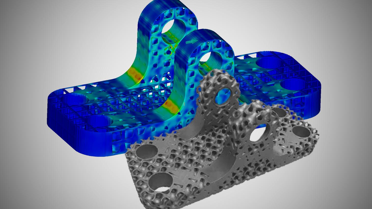 Manufactura Aditiva con Simulación Computacional de Ingeniería