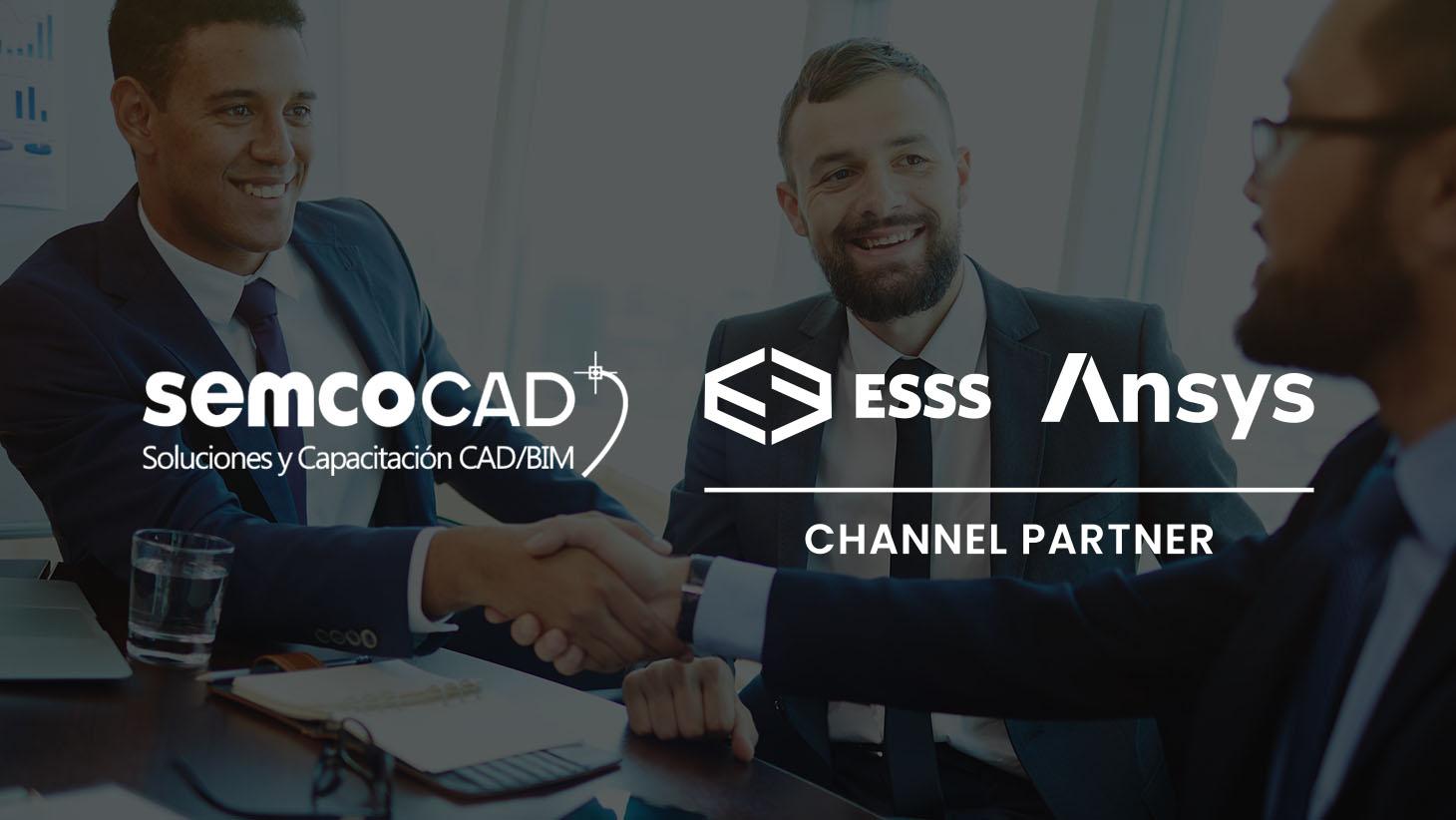 SEMCO entra para o programa Channel Partners ESSS/Ansys