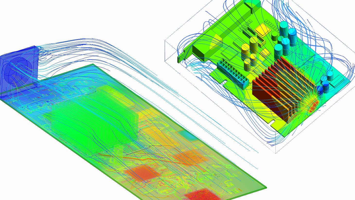Análise térmica de equipamentos eletrônicos