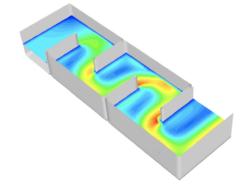 Análisis de Dinámica de Fluidos Computacional de tanque de contacto para tratamiento con ozono.