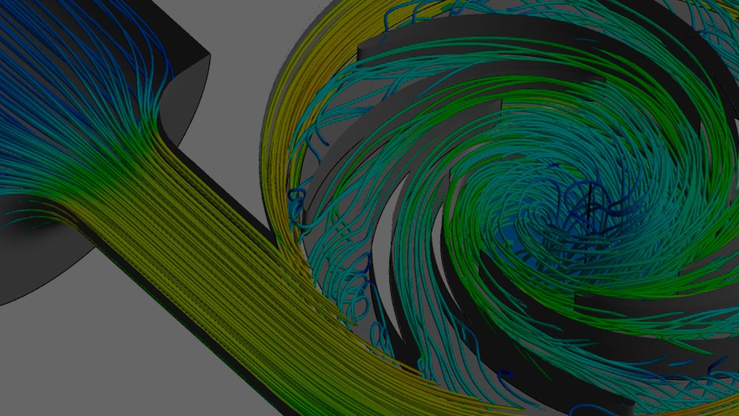 Como melhorar a eficiência da curva da bomba com design 3D inverso