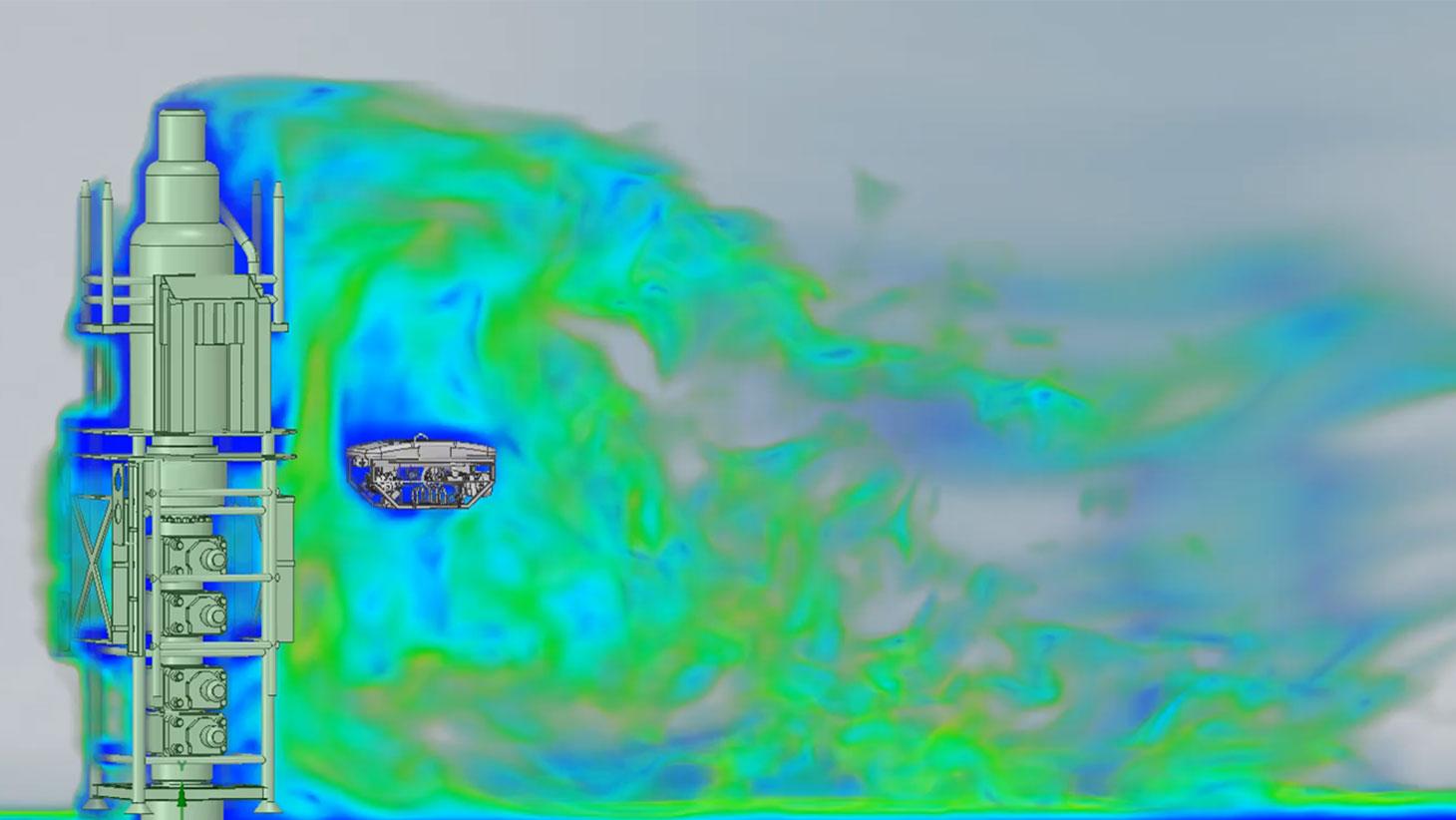 Análisis de dispersión de gases