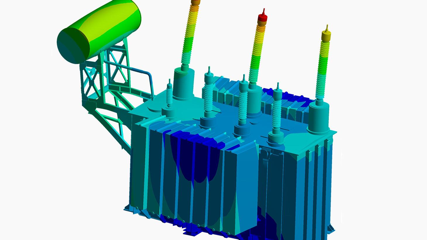 Projeto de transformadores com simulação numérica