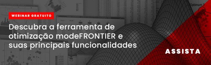Descubra a ferramenta de otimização modeFRONTIER e suas principais funcionalidades