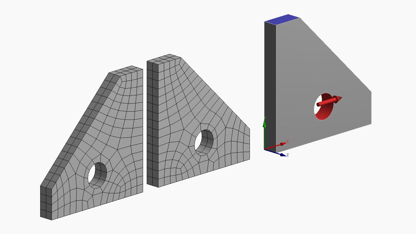 Quarta-técnica – Expansão de simetria no ANSYS Mechanical