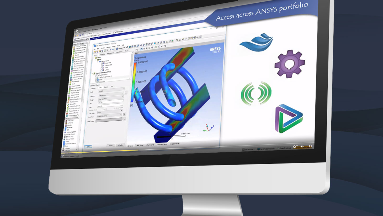 ANSYS aumenta el soporte a la simulación on-premise con mejoras en el Elastic Licensing