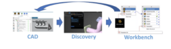CAD nuevo ansys discovery workbench